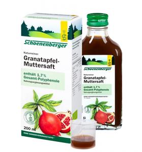 Bilde av Salus Schoenenberger Granateplejuice 200 ml