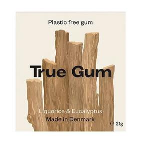 Bilde av True Gum Tyggegummi Licorice & Eucalyptus