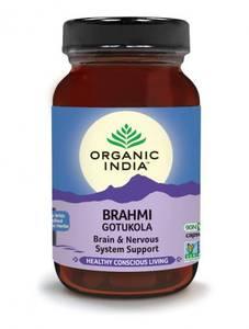 Bilde av Organic India Brahmi 90 kapsler