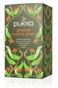 Bilde av Pukka Ginseng Matcha Green Tea 20 poser