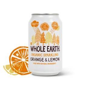 Bilde av Whole Earth Brus ORANGE & LEMON 330 ml
