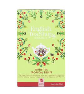 Bilde av English Tea Shop White Tea Tropical Fruits 20 poser