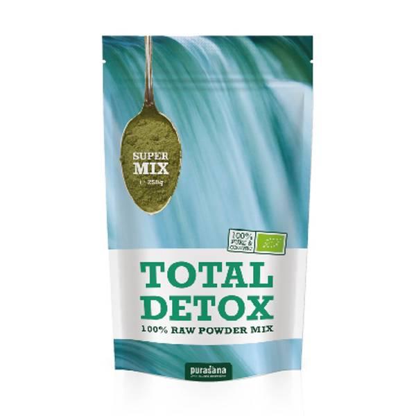 Purasana Total Detox Mix pulver 250 g