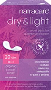 Bilde av Natracare Inkontinensbind Dry & Light 20 stk