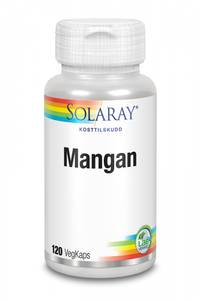 Bilde av Solaray Mangan 5 mg 120 kapsler