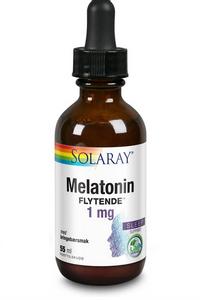 Bilde av Solaray Melatonin Flytende 1 mg 55 ml