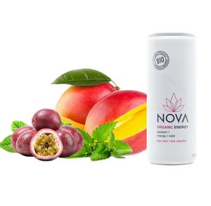 Bilde av Nova Organic Energy Passion Mango Mint 250ml