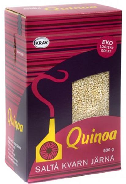 Saltå Kvarn Quinoa HEL vanlig 500 g