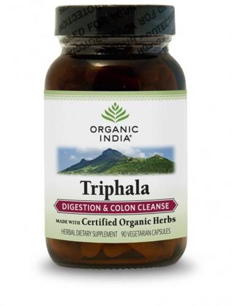 Organic India Triphala 90 kapsler