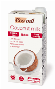 Bilde av EcoMil Kokosmelk naturell 1 liter