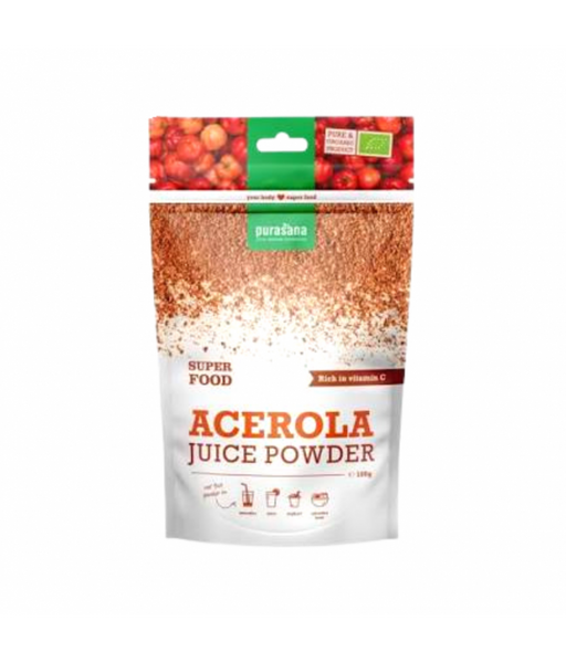 Purasana Acerola juice pulver 100g